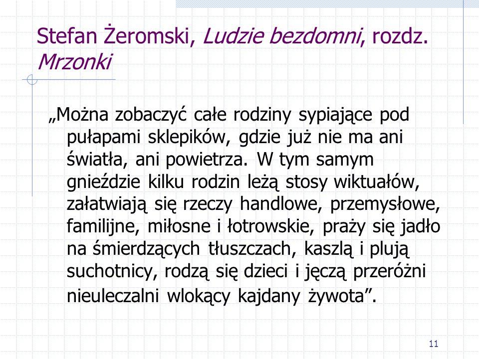 Stefan Żeromski, Ludzie bezdomni, rozdz. Mrzonki