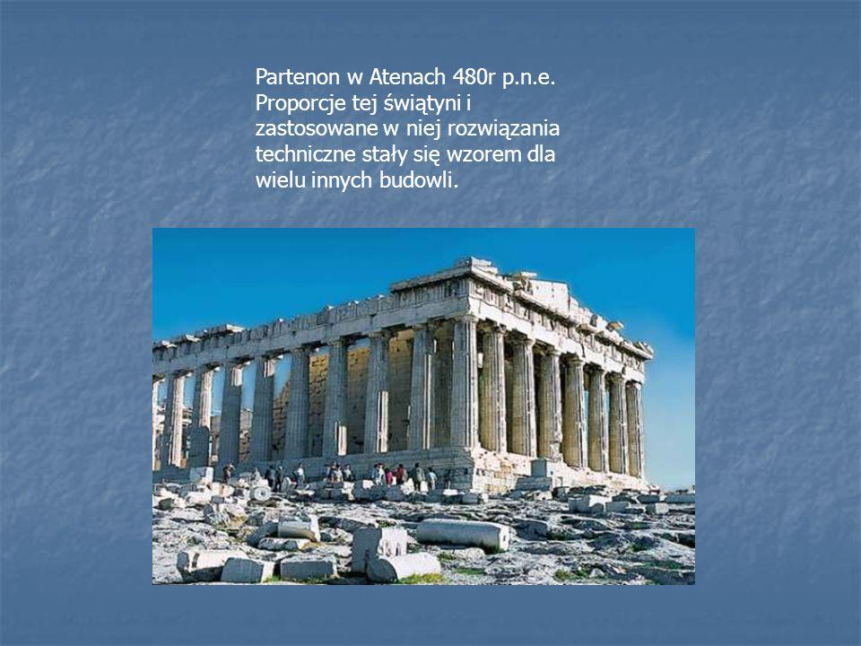 Partenon w Atenach 480r p. n. e