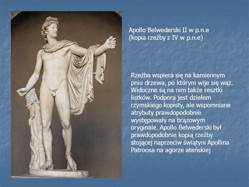 Apollo Belwederski II w p.n.e (kopia rzeźby z IV w p.n.e)