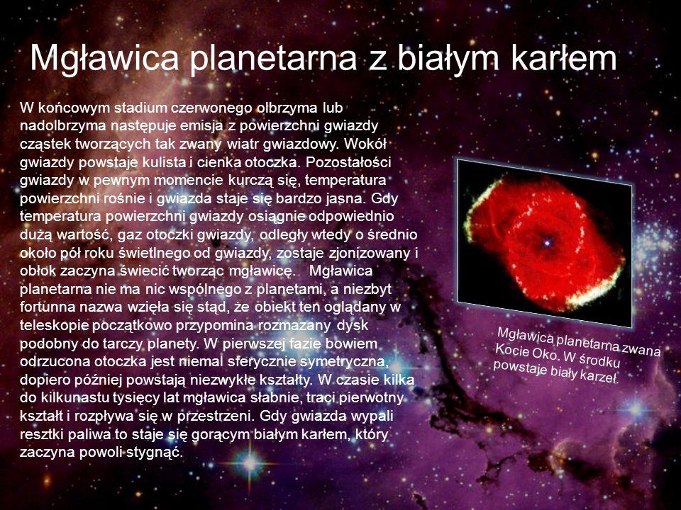 Mgławica planetarna z białym karłem