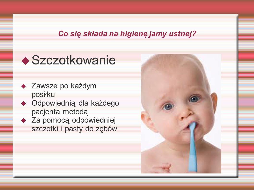 Co się składa na higienę jamy ustnej