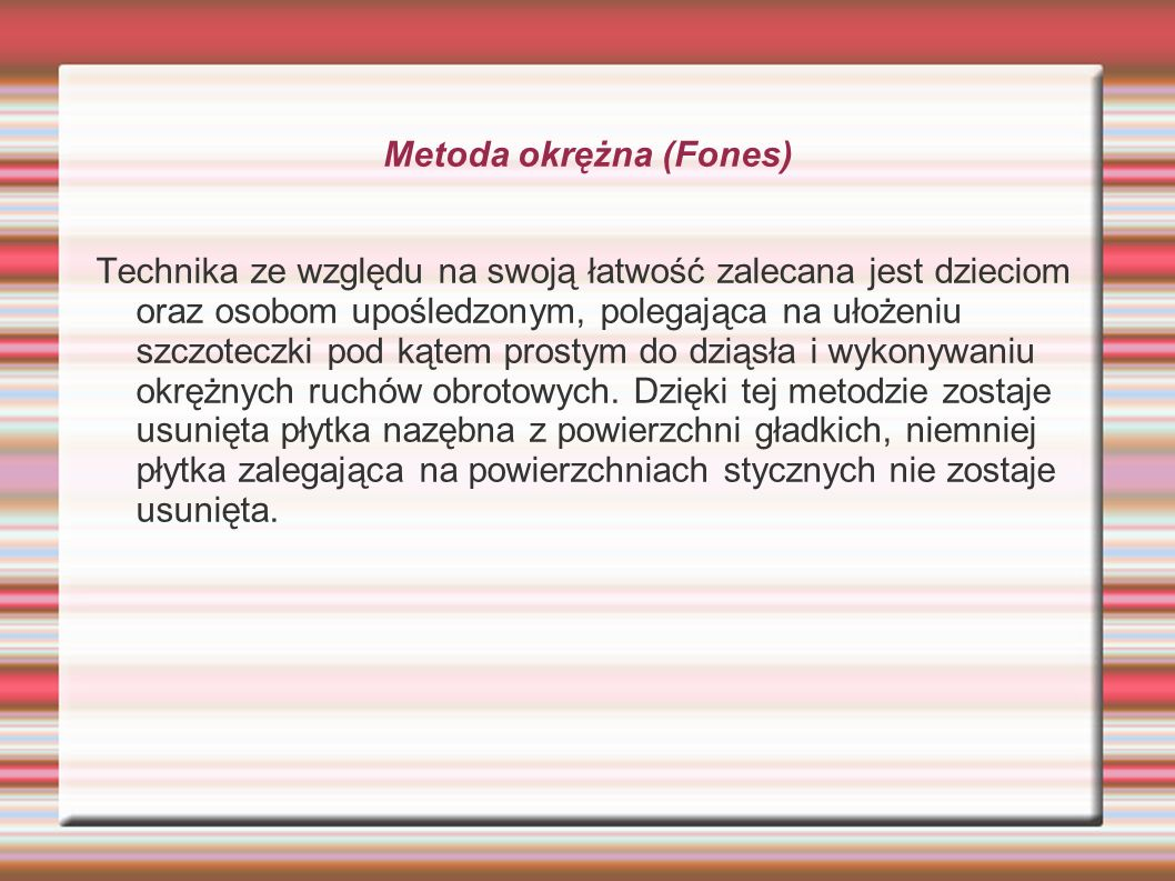 Metoda okrężna (Fones)
