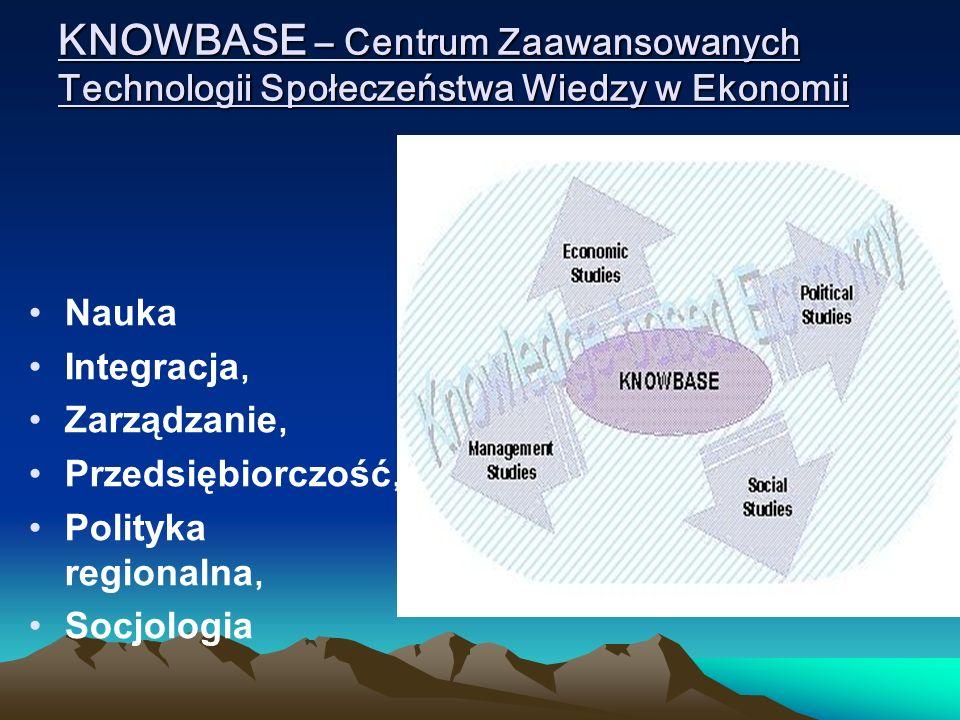 KNOWBASE – Centrum Zaawansowanych Technologii Społeczeństwa Wiedzy w Ekonomii