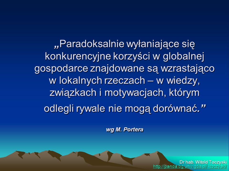 Dr hab. Witold Toczyski http://panda.bg.univ.gda.pl/~toczyski/
