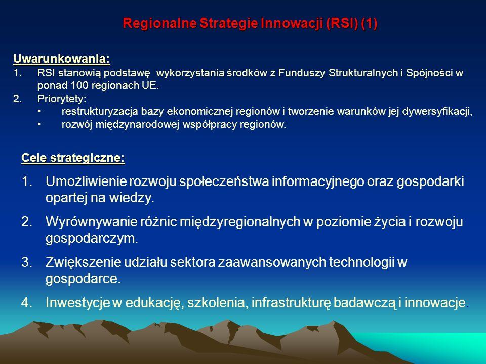 Regionalne Strategie Innowacji (RSI) (1)