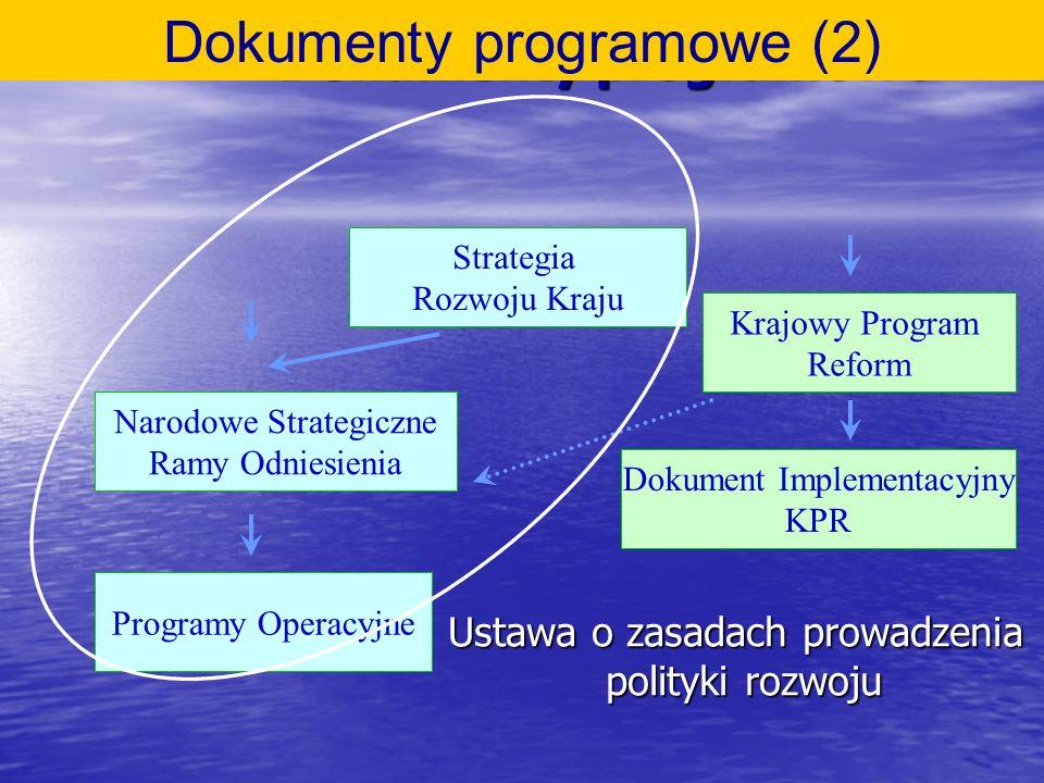 Dokumenty programowe (2)