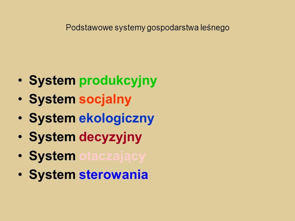 Podstawowe systemy gospodarstwa leśnego