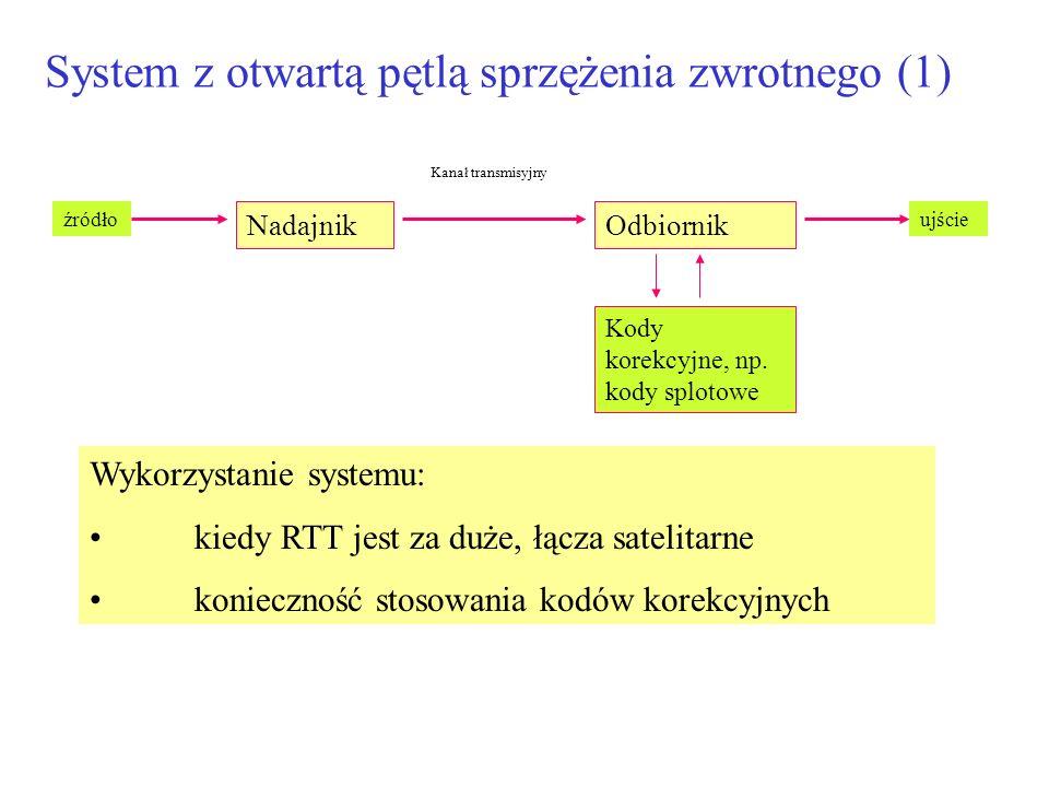 System z otwartą pętlą sprzężenia zwrotnego (1)