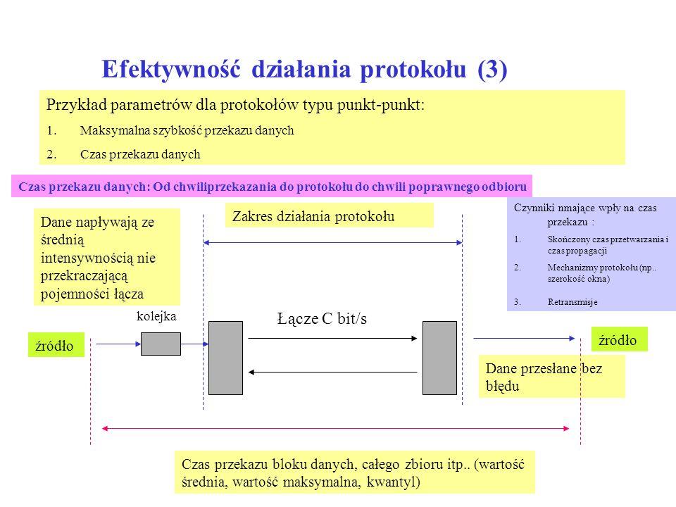 Efektywność działania protokołu (3)