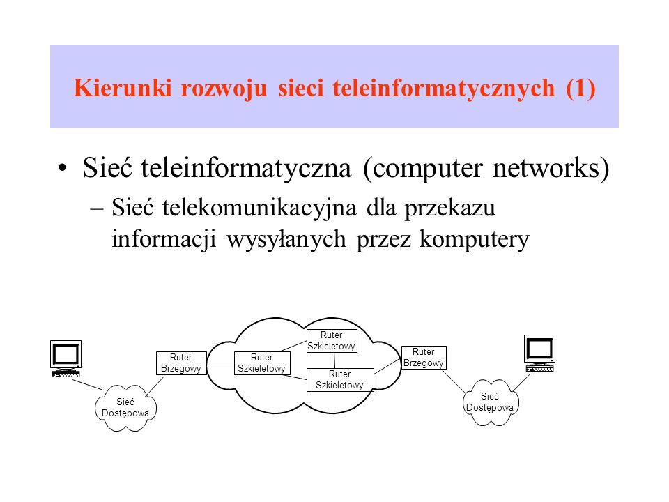 Kierunki rozwoju sieci teleinformatycznych (1)