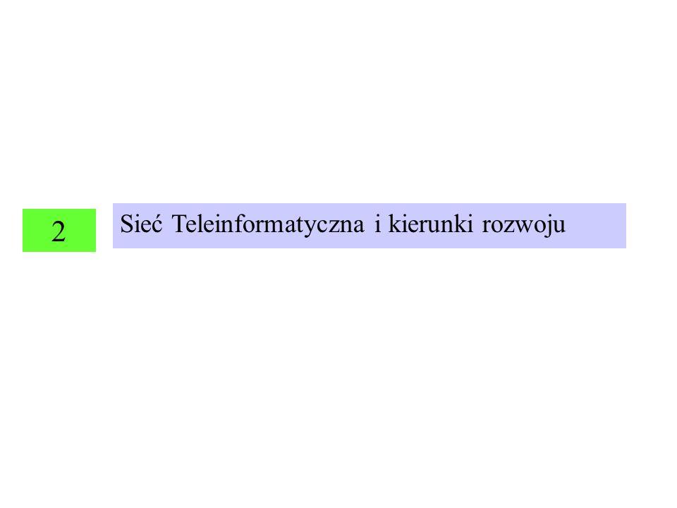 Sieć Teleinformatyczna i kierunki rozwoju
