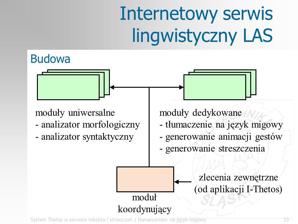 Internetowy serwis lingwistyczny LAS