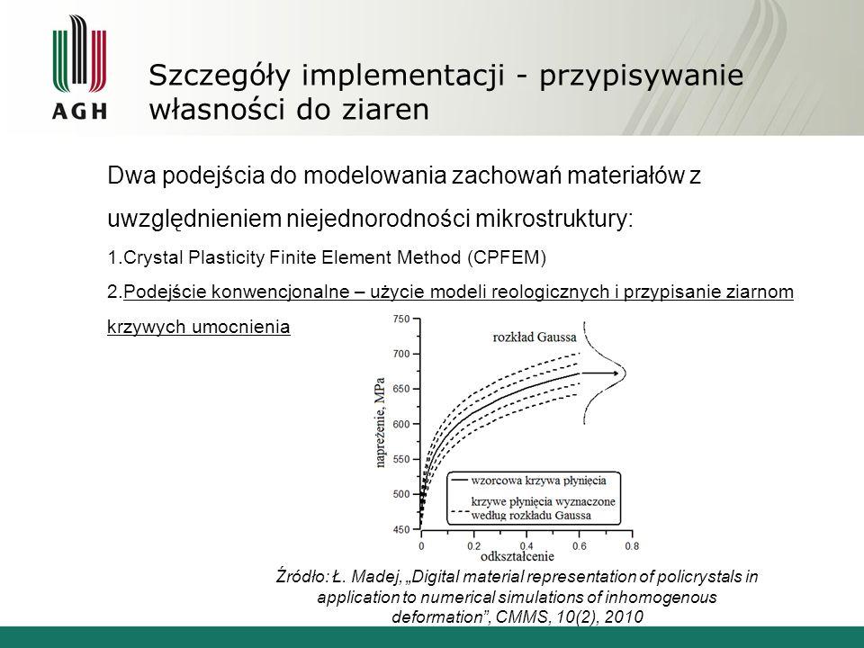Szczegóły implementacji - przypisywanie własności do ziaren