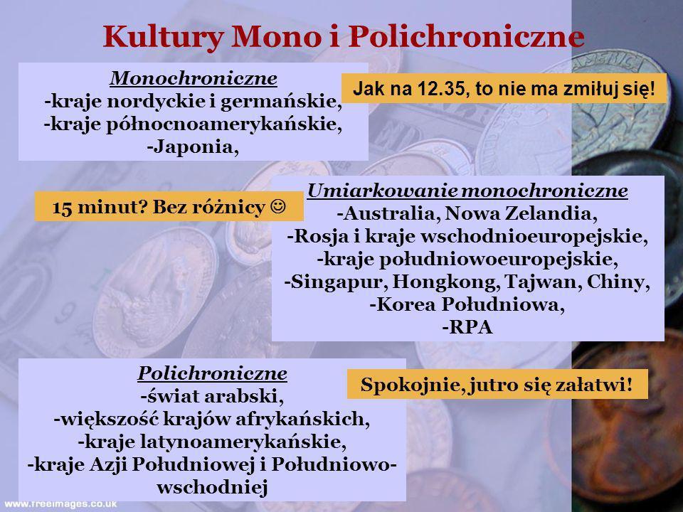 Kultury Mono i Polichroniczne Spokojnie, jutro się załatwi!