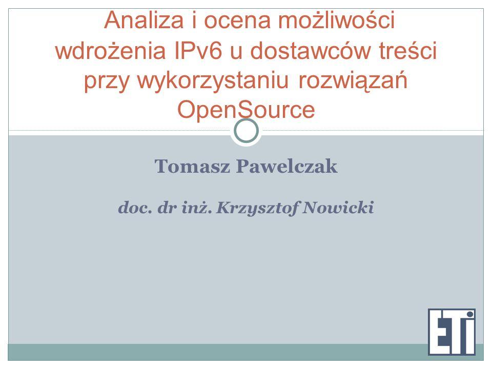 doc. dr inż. Krzysztof Nowicki