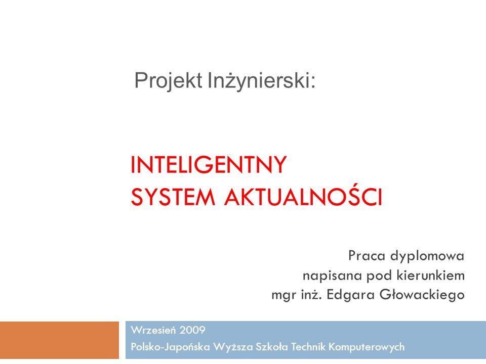 Inteligentny System Aktualności