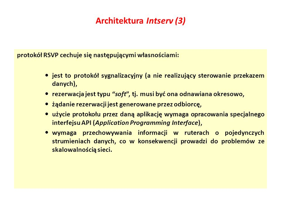 Architektura Intserv (3)