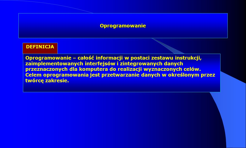 Oprogramowanie DEFINICJA.