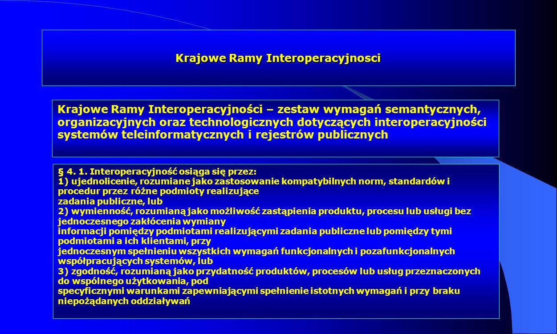 Krajowe Ramy Interoperacyjnosci