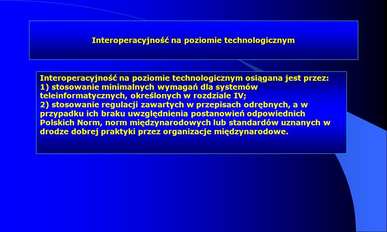 Interoperacyjność na poziomie technologicznym