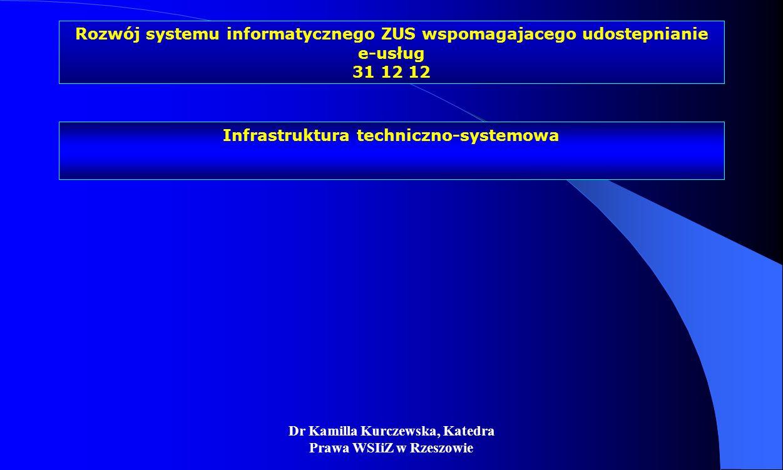 Infrastruktura techniczno-systemowa