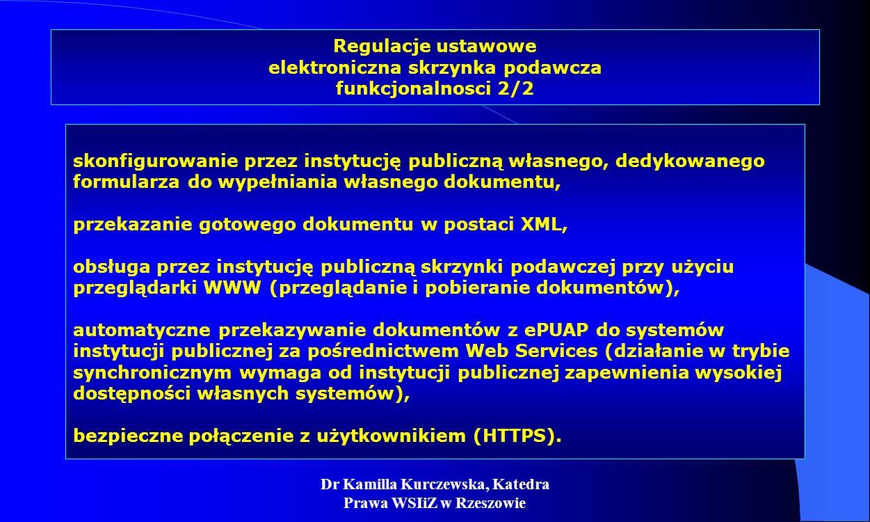 Regulacje ustawowe elektroniczna skrzynka podawcza funkcjonalnosci 2/2