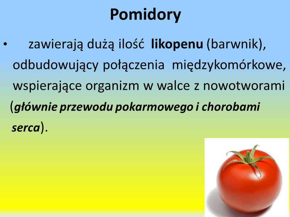 Pomidory odbudowujący połączenia międzykomórkowe,