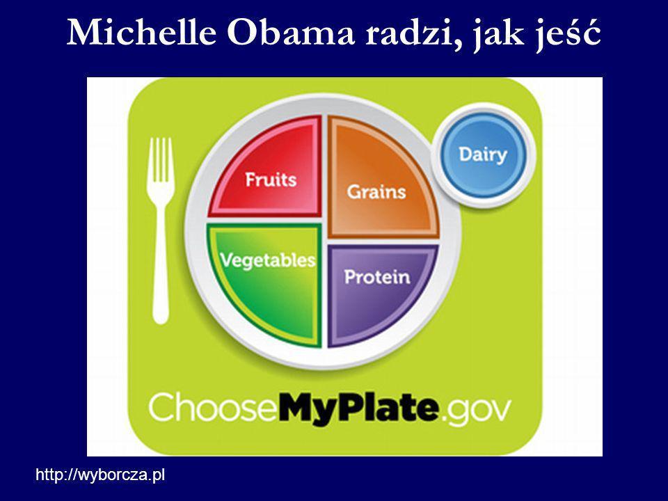 Michelle Obama radzi, jak jeść
