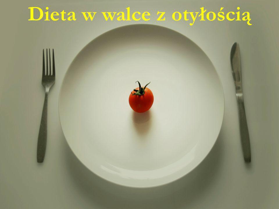 Dieta w walce z otyłością