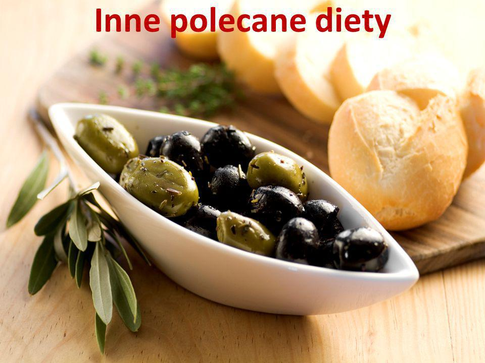 Inne polecane diety