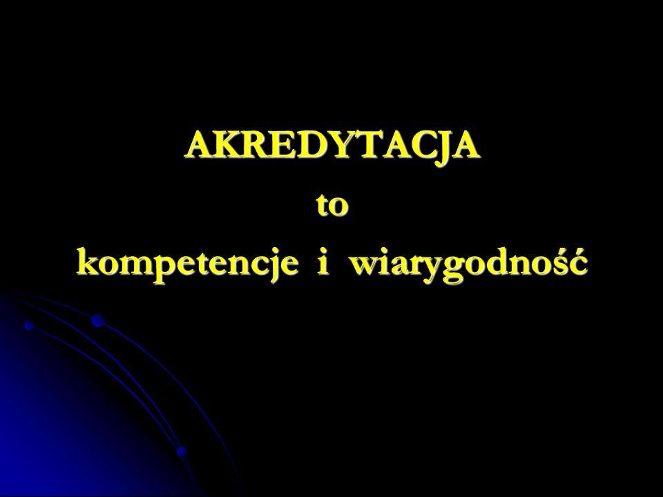 kompetencje i wiarygodność