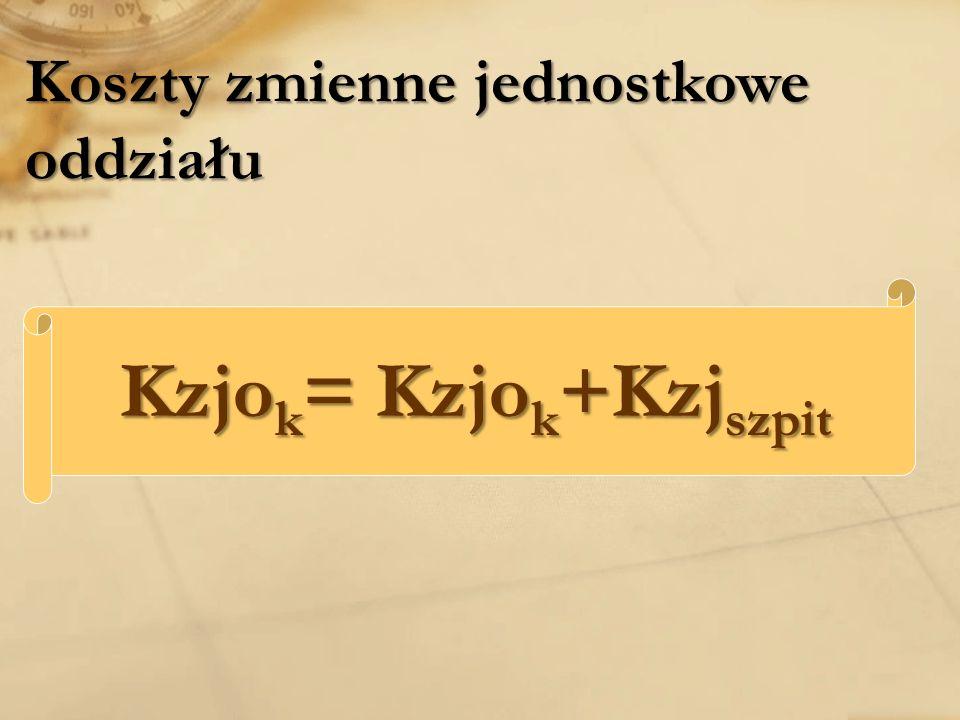 Kzjok= Kzjok+Kzjszpit