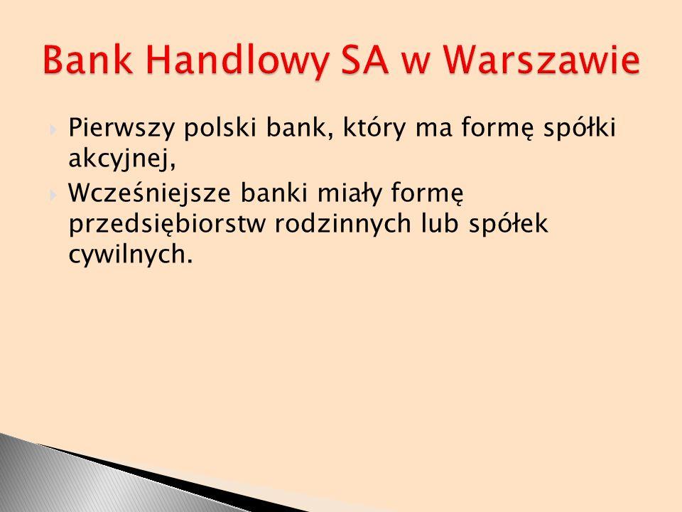 Bank Handlowy SA w Warszawie