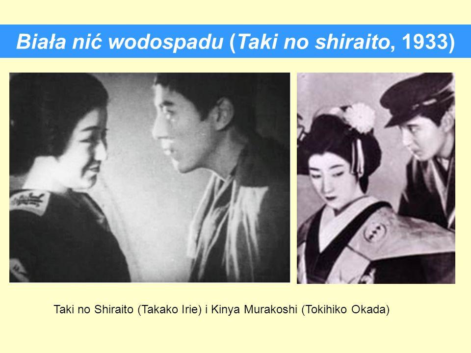 Biała nić wodospadu (Taki no shiraito, 1933)