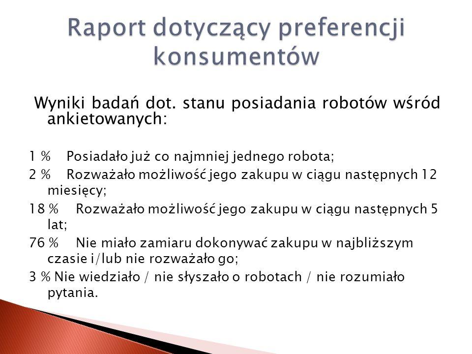 Raport dotyczący preferencji konsumentów