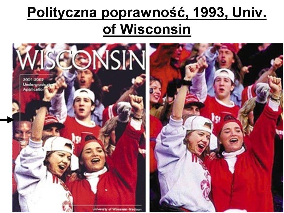 Polityczna poprawność, 1993, Univ. of Wisconsin