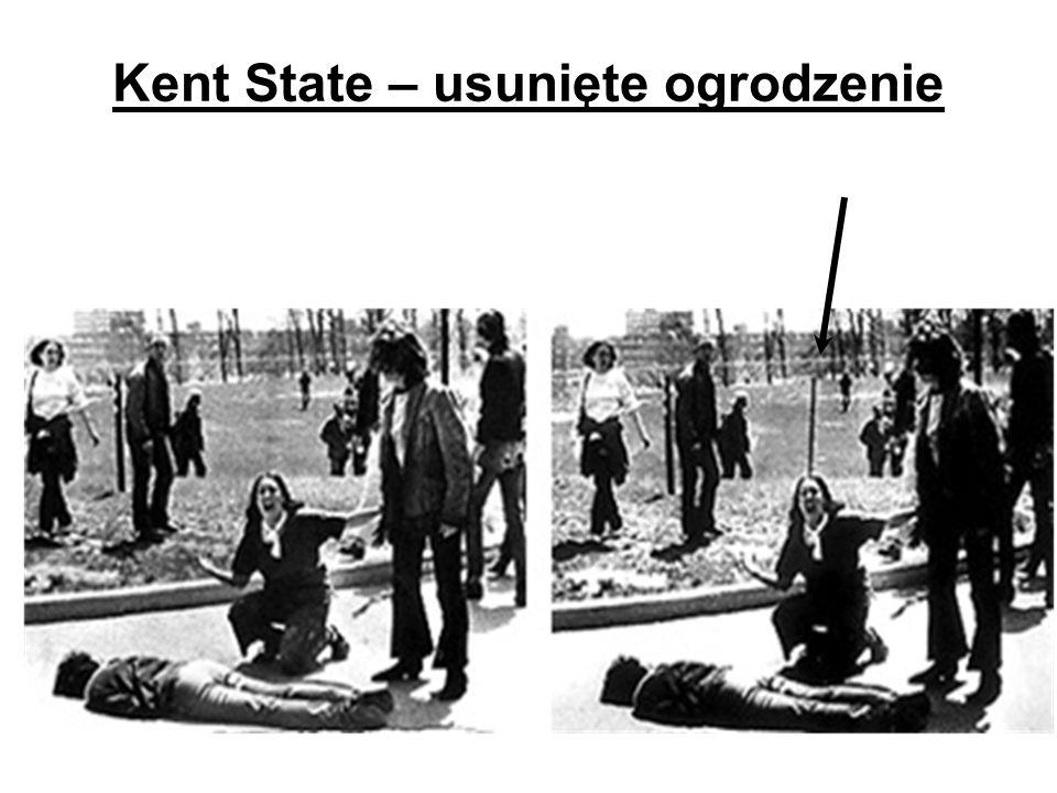 Kent State – usunięte ogrodzenie