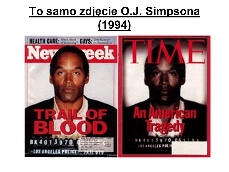 To samo zdjęcie O.J. Simpsona (1994)