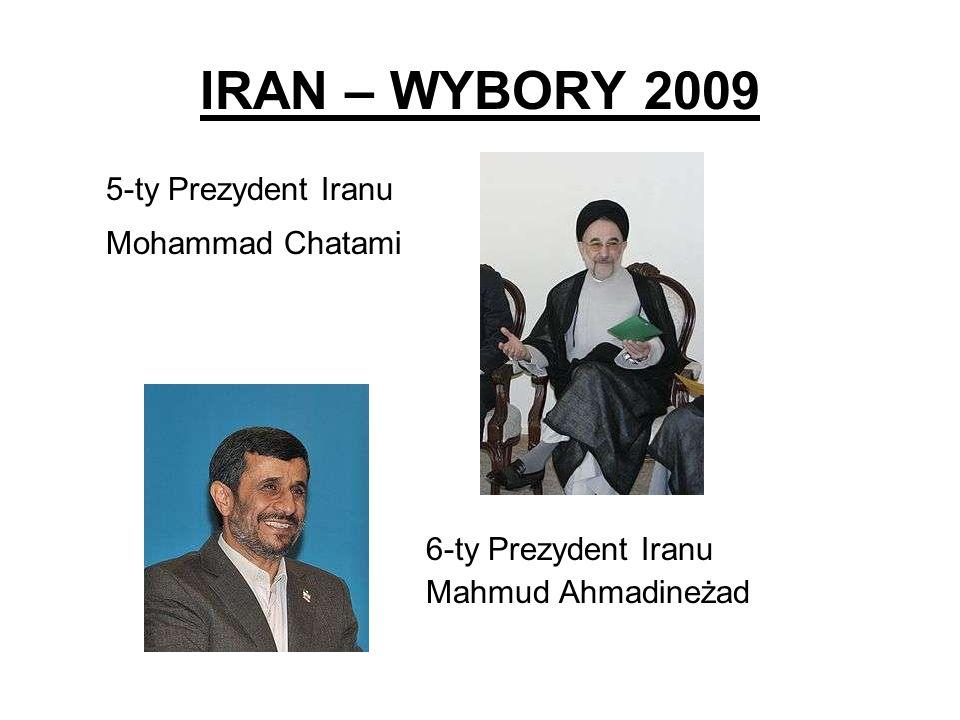 IRAN – WYBORY 2009 5-ty Prezydent Iranu Mohammad Chatami