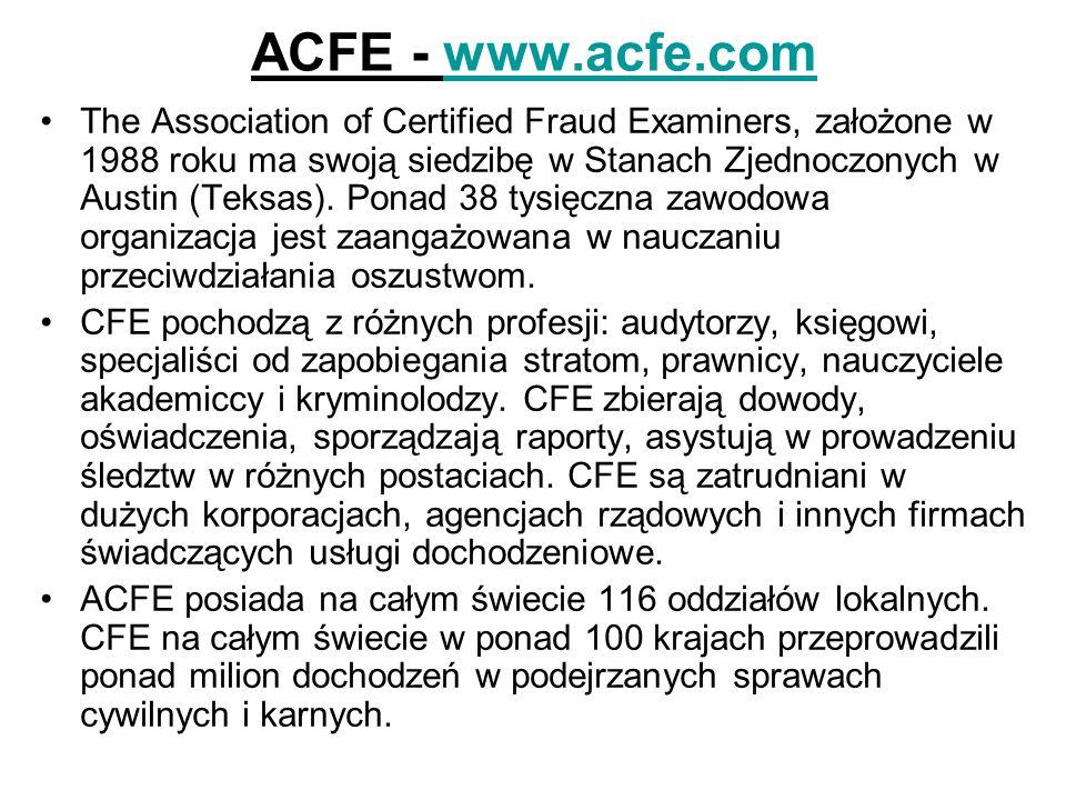 ACFE - www.acfe.com