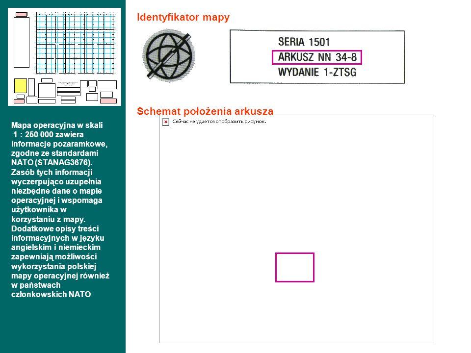 Schemat położenia arkusza