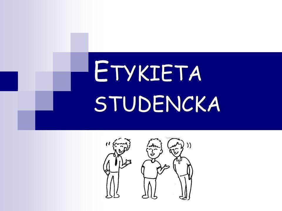 Etykieta studencka