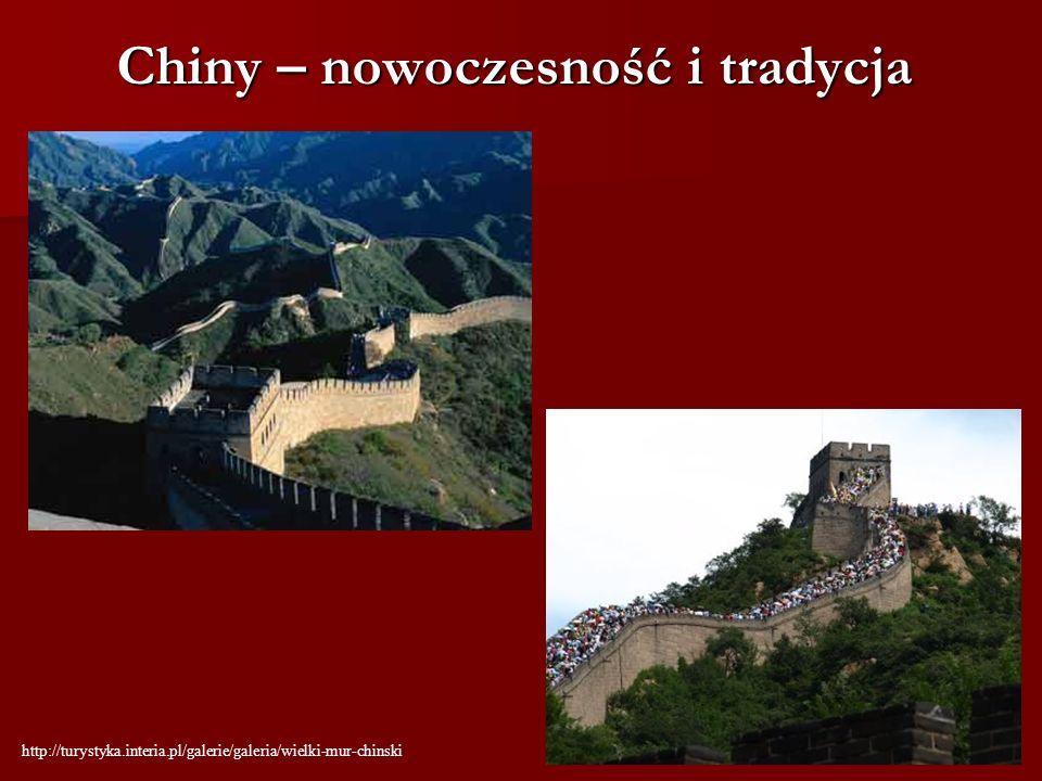 Chiny – nowoczesność i tradycja