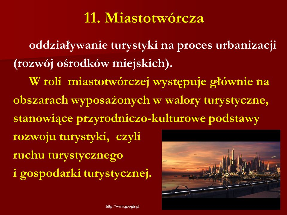11. Miastotwórcza