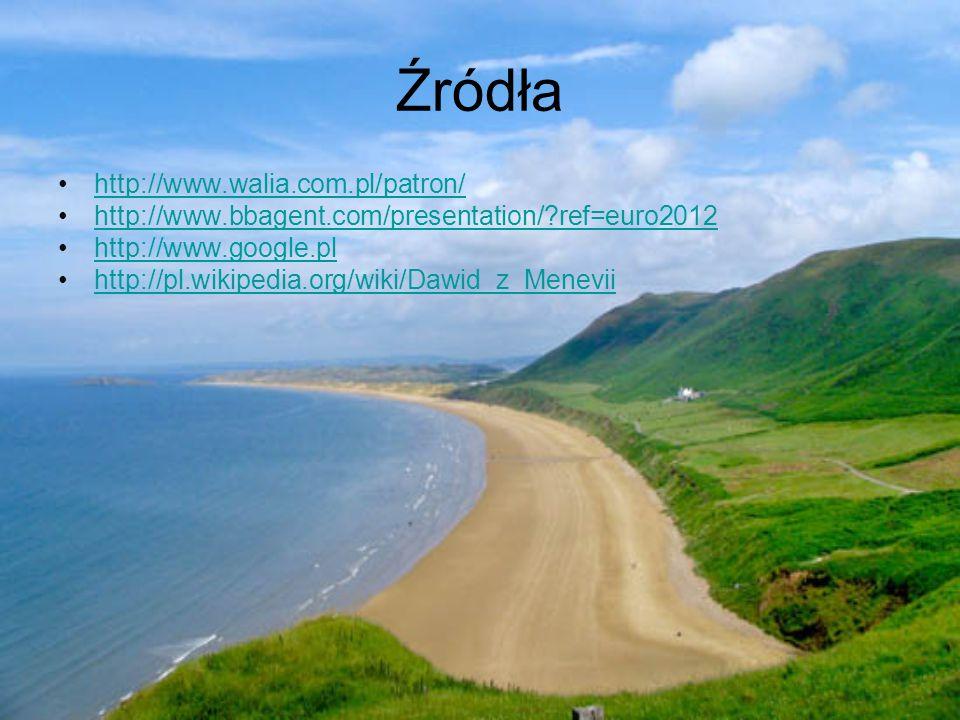 Źródła http://www.walia.com.pl/patron/