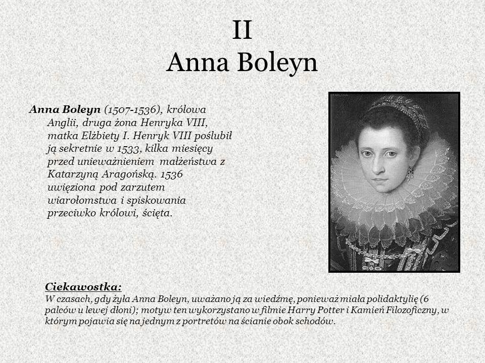 II Anna Boleyn
