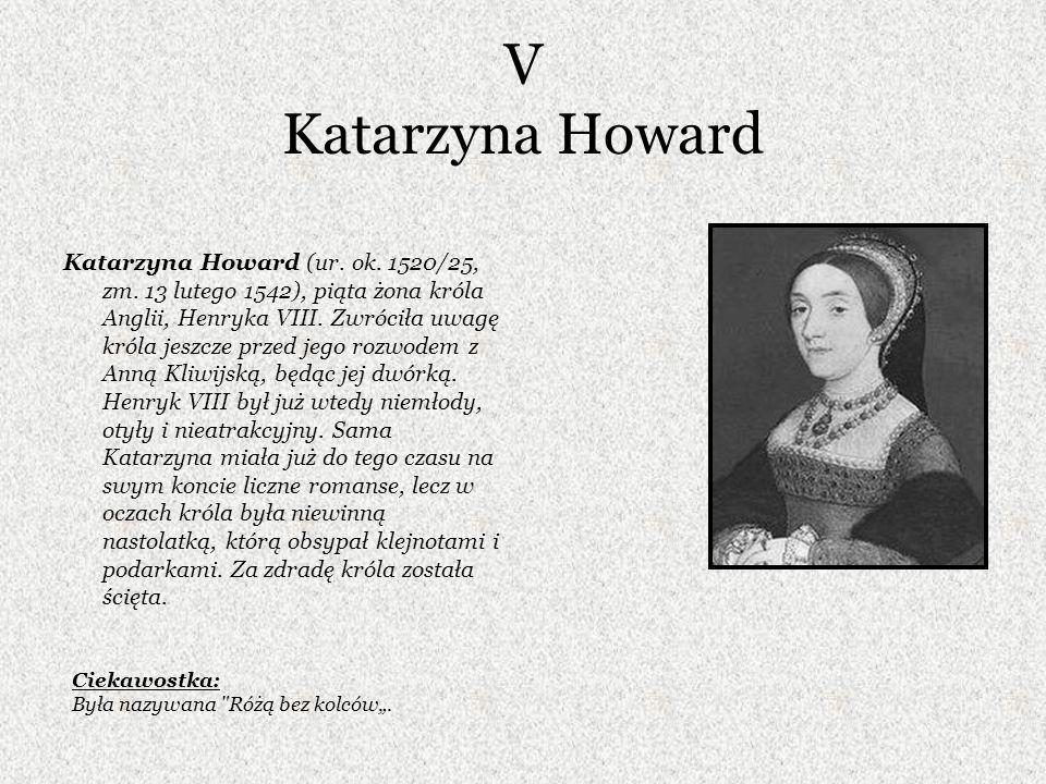 V Katarzyna Howard