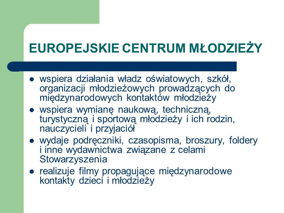 EUROPEJSKIE CENTRUM MŁODZIEŻY