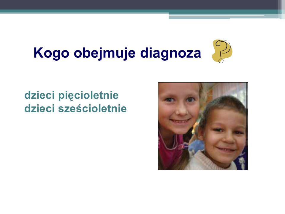 Kogo obejmuje diagnoza