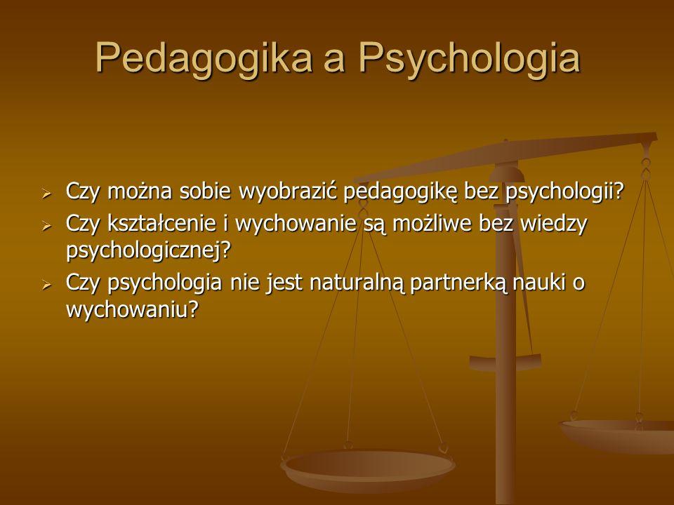 Pedagogika a Psychologia
